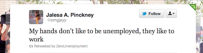 Jalesa A. Pinckney, @omgjayy