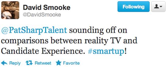 @DavidSmooke #SmartUp