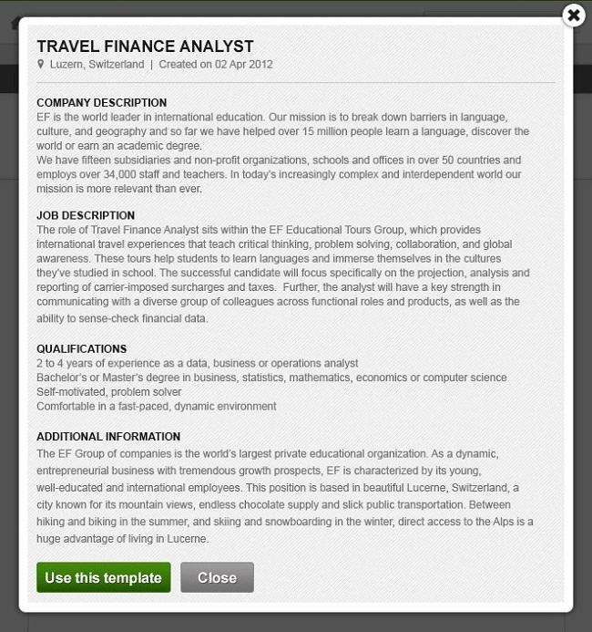 Weekly Update: Introducing Job Templates | SmartRecruiters