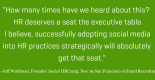 Why HR Needs to Speed Up Social Media Adoption