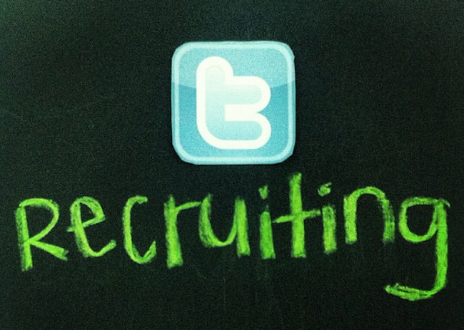 Recruiting on Twitter