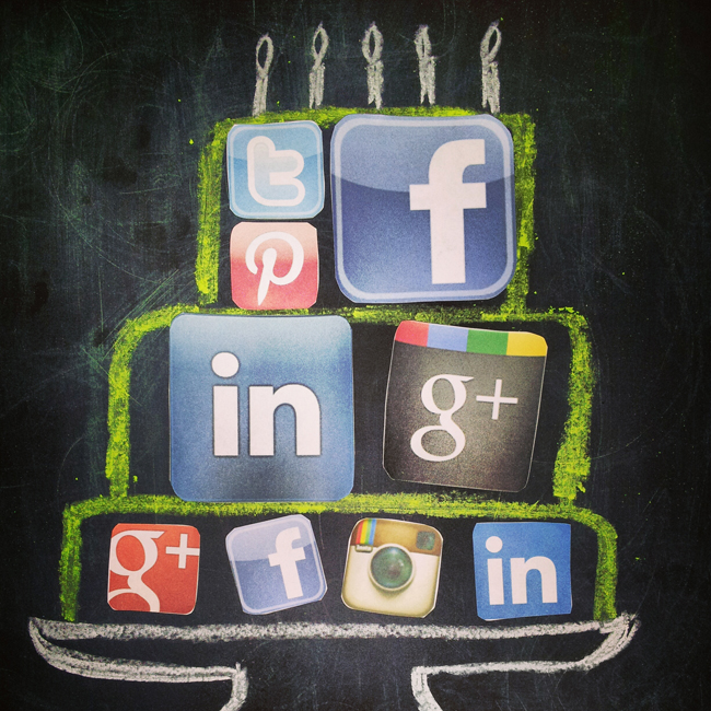 social networking, social media, baking a cake, job search, career strategy