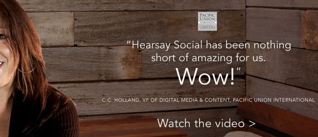 HearSay Social Website