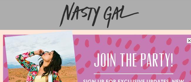 NastyGal Website