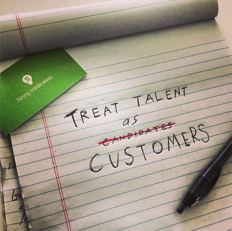 Treat Talent as Customers