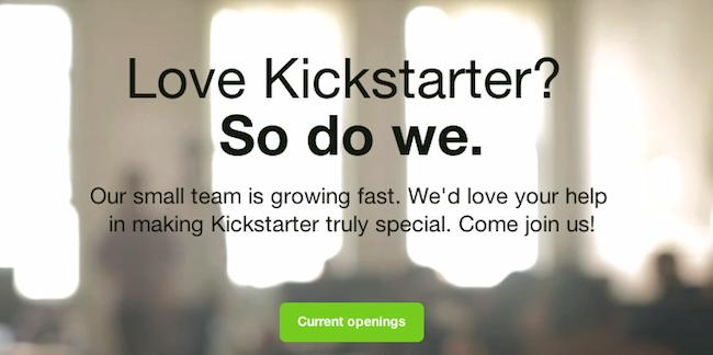 Kickstarter stock options