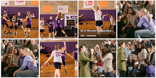 NYU Woman's Basketball