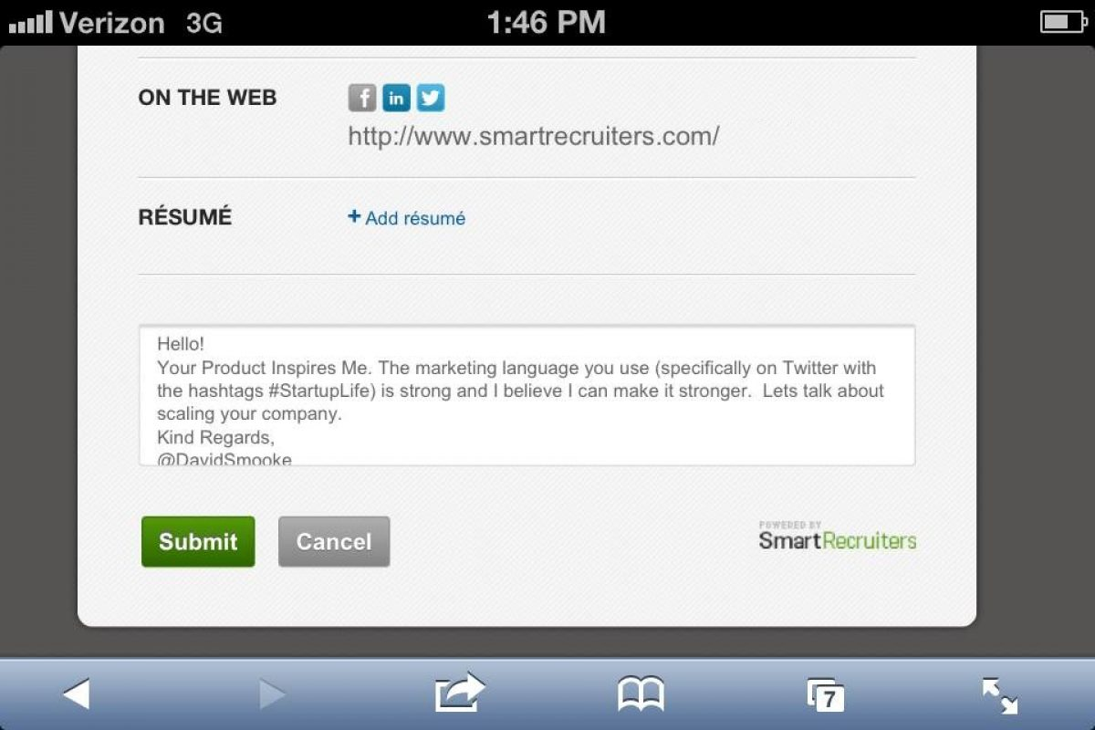 Letter To Job Recruiter from www.smartrecruiters.com