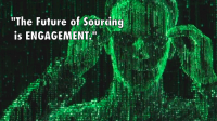 The future of sourcing is engagement