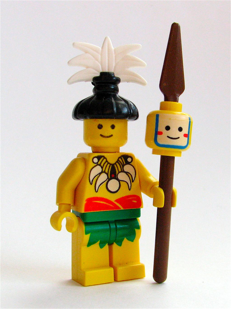 Lego Headhunter Man