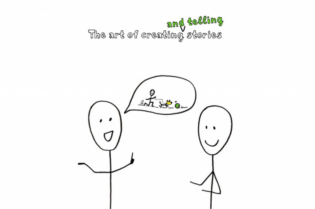 the art of creating and telling stories