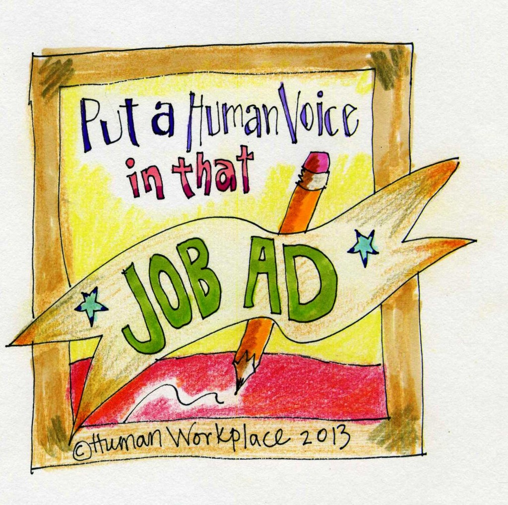 Human Voice in Job Ad