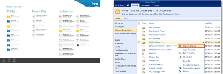 box vs sharepoint