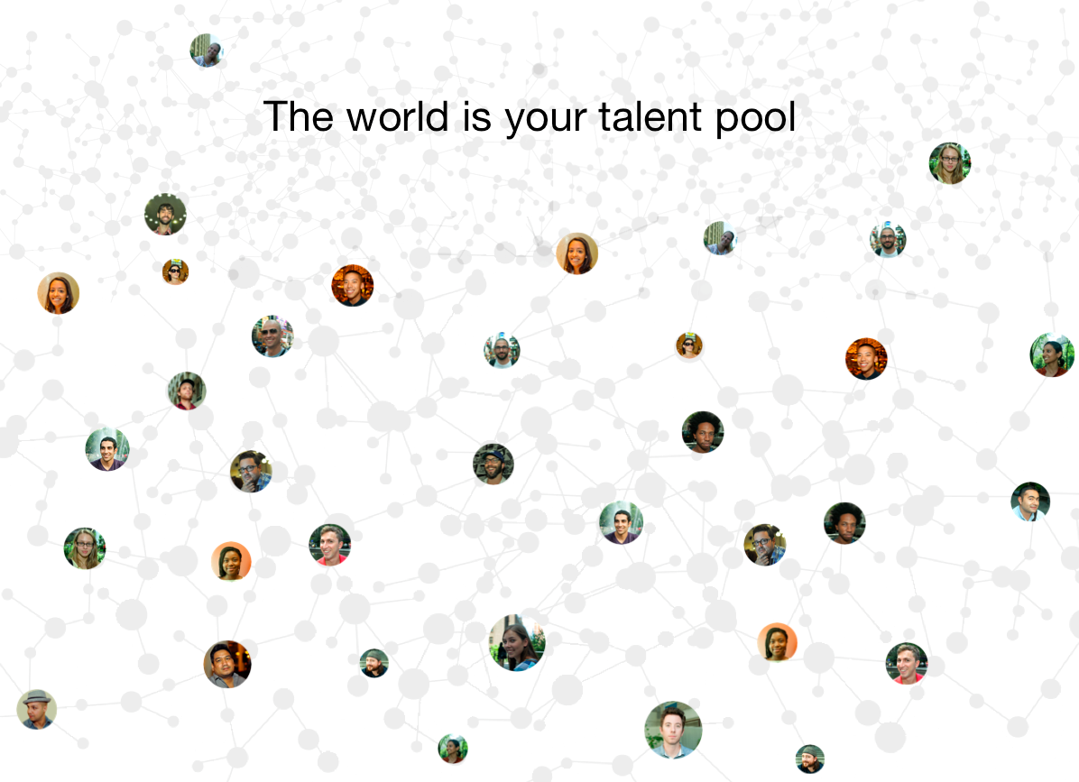 The World is Your Talent Pool