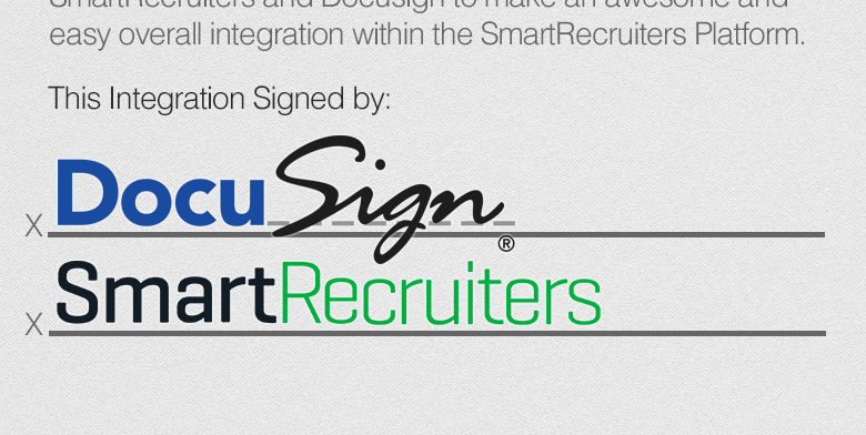 Docusign and SmartRecruiters Integration