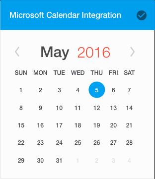 Office 365 Calendar Integration