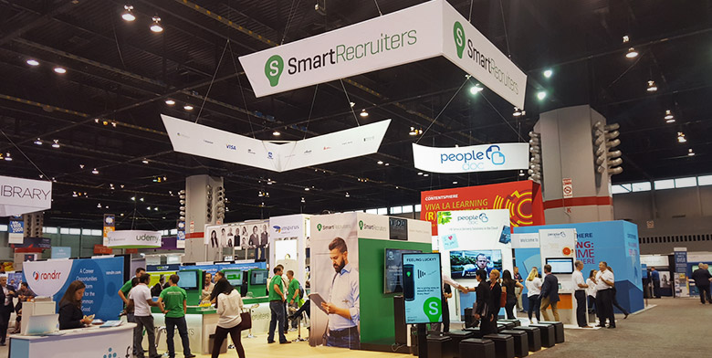 The SmartRecruiters HR Tech Booth