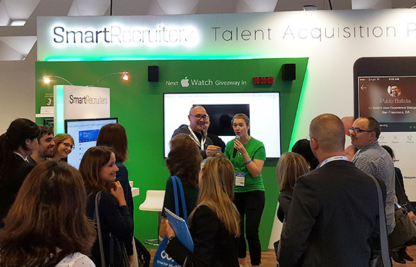 SmartRecruiters at HR Tech World 2017