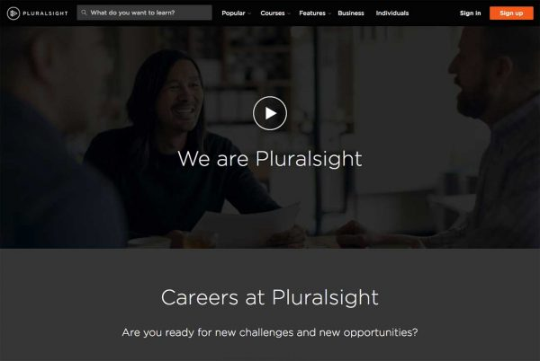 Pluralsight career site