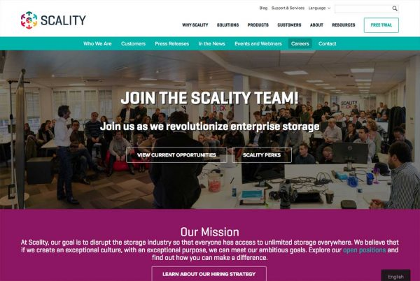 Scality career site