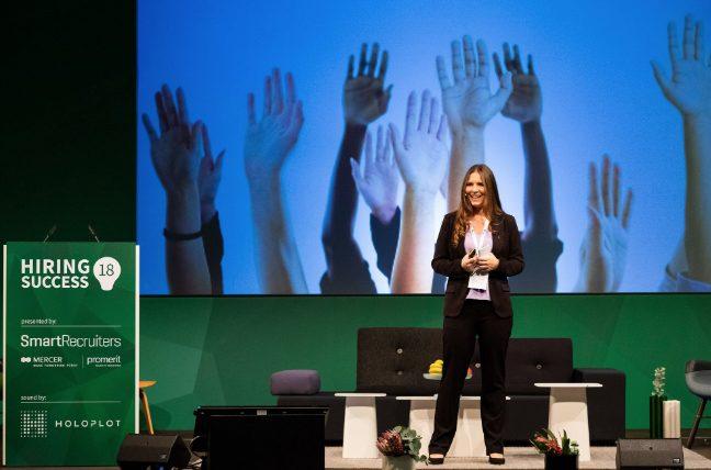 Shelley Winner speaking at Hiring Success EU – Berlin