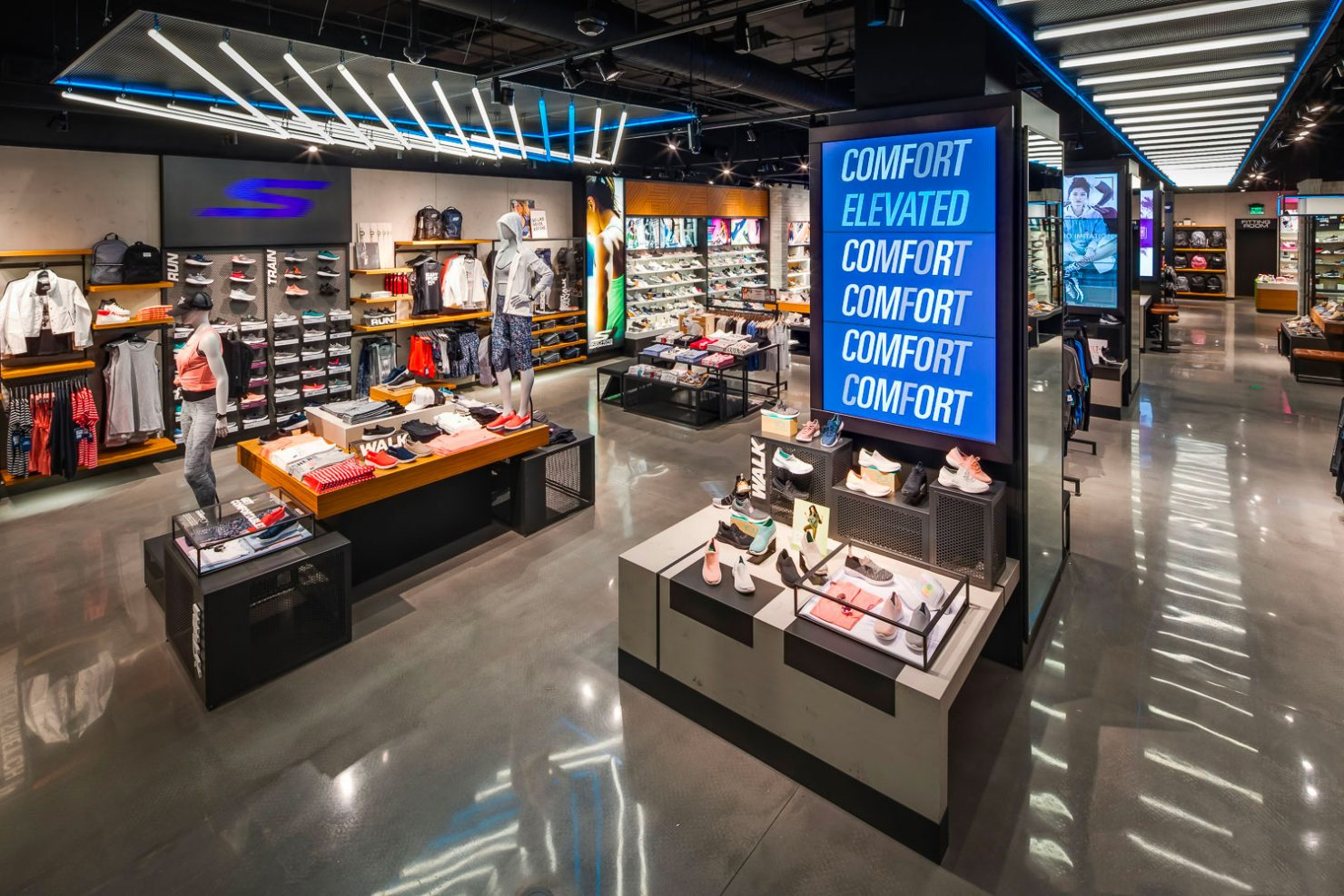 skechers retail stores