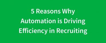 recruiting automation and efficiency