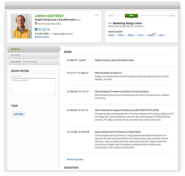 exle resume resume format for applicant tracking system