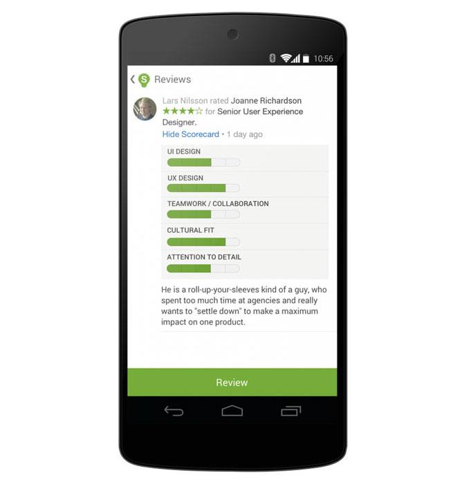 mobile recruiting platform | recruiting app