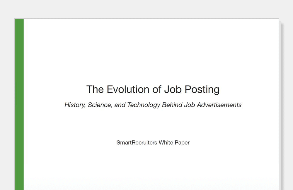 The Evolution of Job Postings
