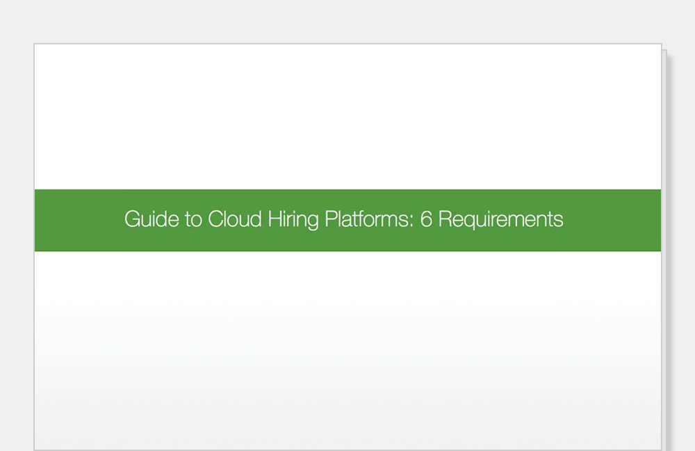 Guide to Cloud Hiring Platforms