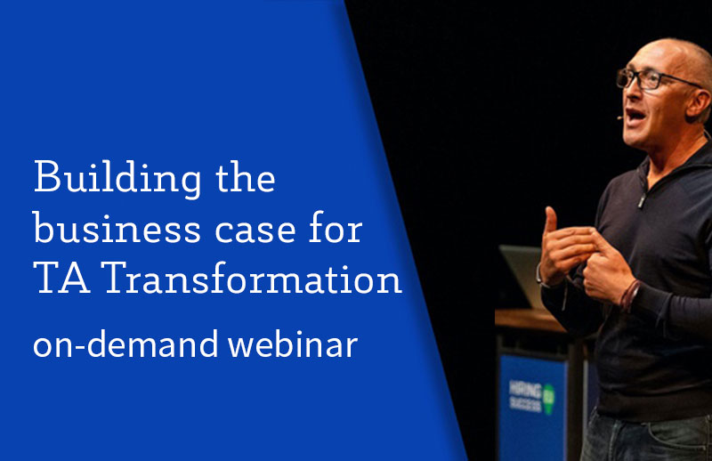 Building the Business Case for TA Transformation