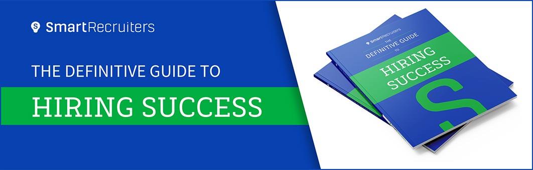 Definitive Guide to Hiring Success - eBook