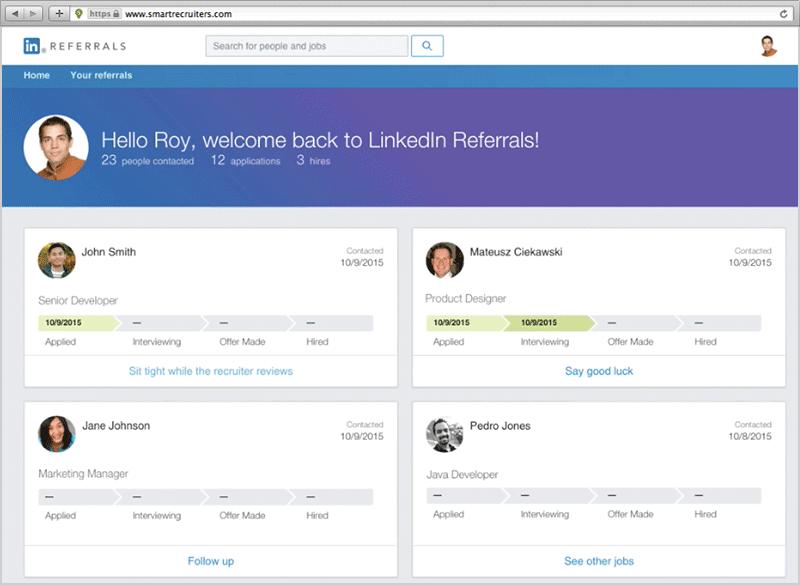 LinkedIn Referrals Integration