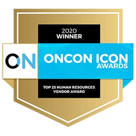 OnCon - Top 25 Human Resources Vendor Award