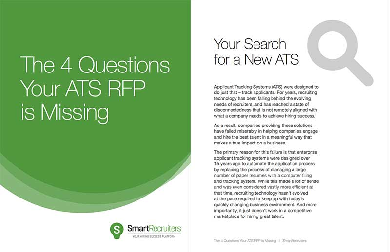 The 4 Questions Your ATS RFP is Missing